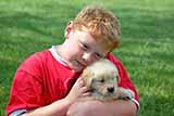 Con frecuencia, la muerte de una mascota a la que quieren mucho afecta duramente a los niños, encuentra un estudio