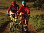News Picture: Older Cyclists Prone to Injury: Study