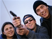 News Picture: 1 in 18 U.S. Teens Carries a Gun to School: Study
