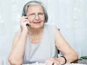 Elderly cellphone