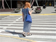 News Picture: Distracted by Their Smartphones, Pedestrians Are Landing in the ER