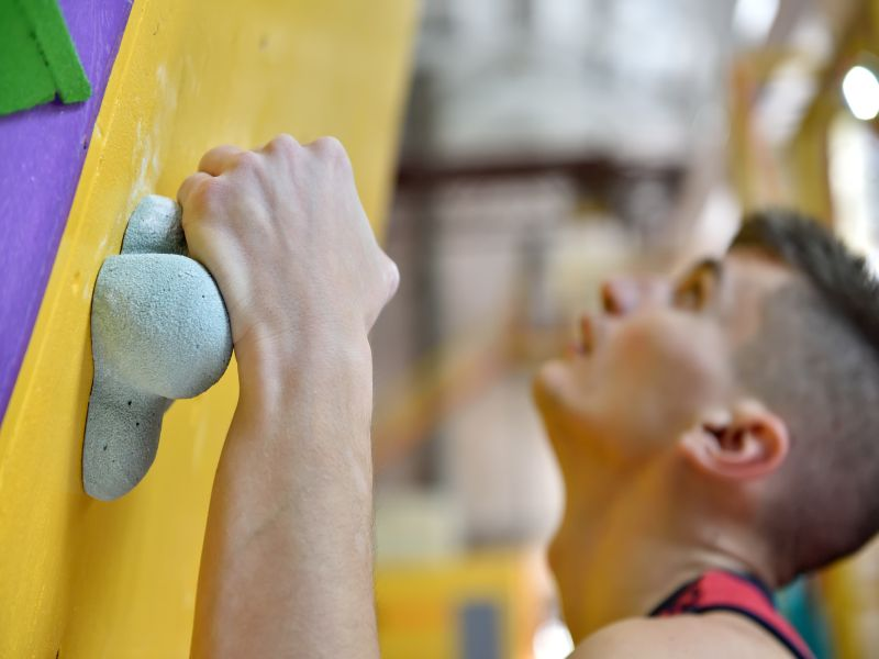 Rock Climbing Goes Mainstream for Exercise Buffs