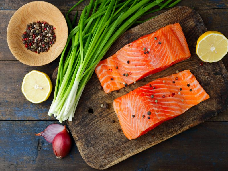 Eating fish twice a week is good for heart health