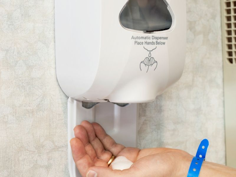 Location is Key to Help Hospital Hand Sanitizers Get Used