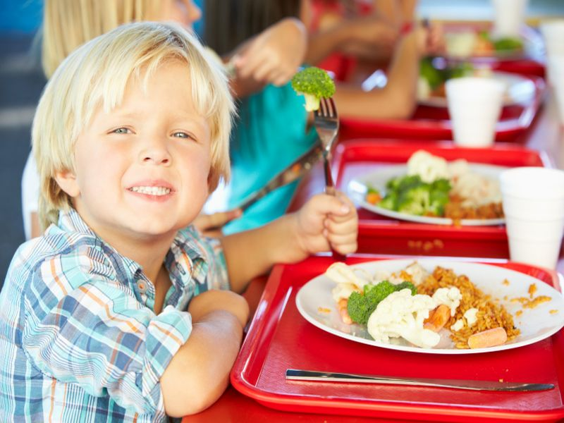 National School Lunch Program Serving Up Healthier Fare