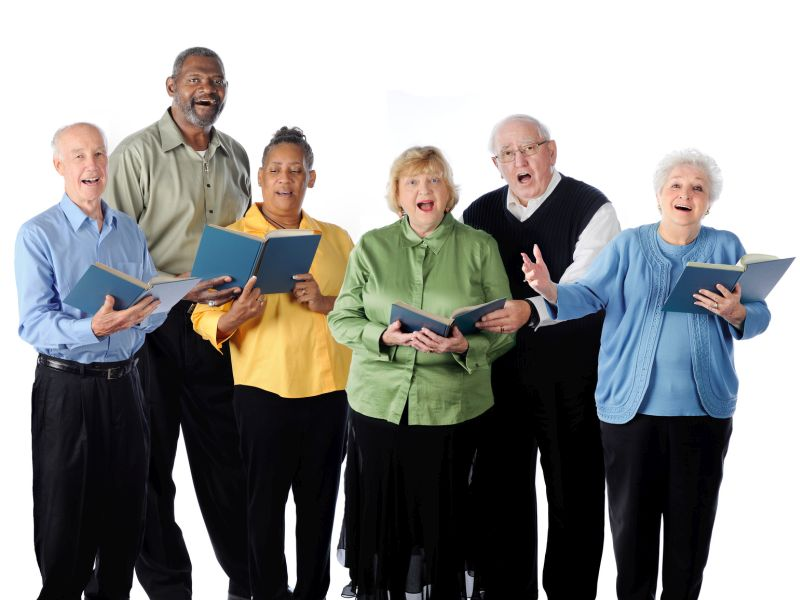 News Picture: Community Choirs Can Be Social Salvation for Seniors