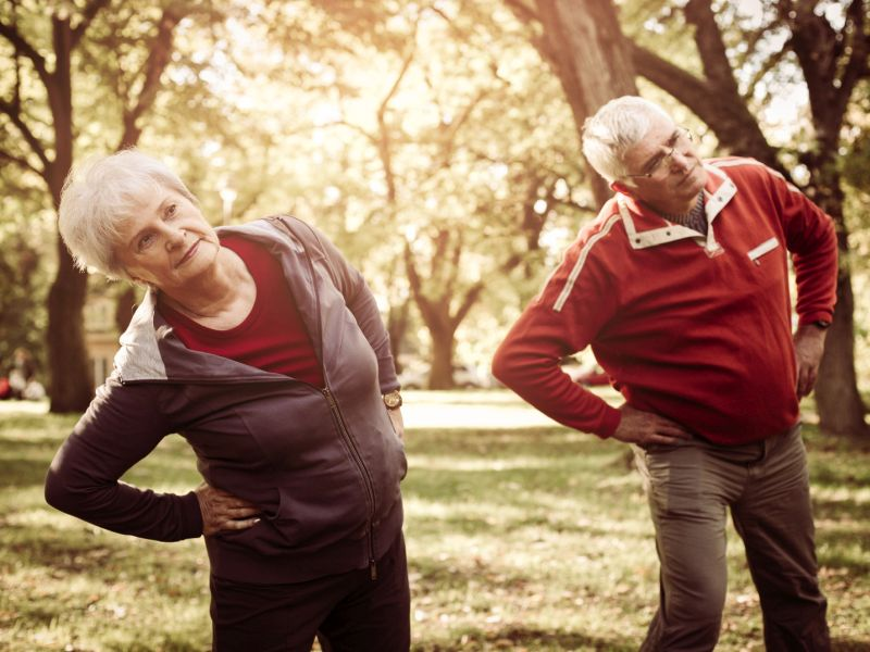 Exercise Habits Key to Gauging Seniors' Longevity