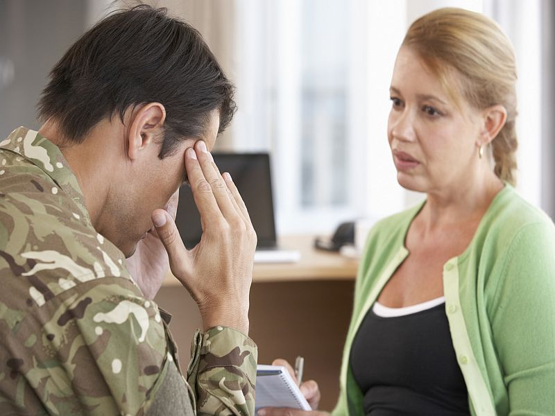 Study: Many Vets Struggle With Suicidal Thoughts, Need More Help From VA
