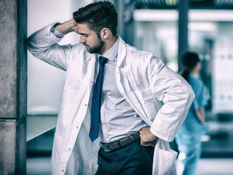 Pandemic Has ER Docs Stressed Out and Weary: Survey