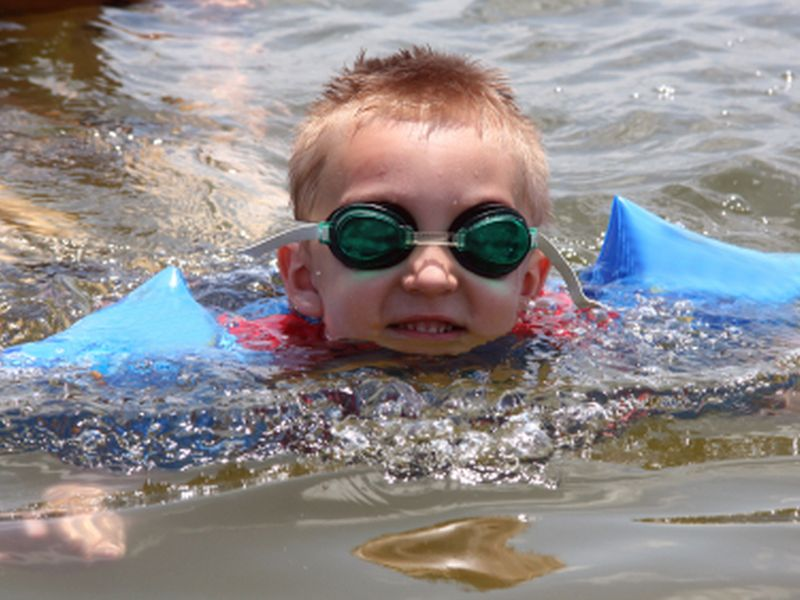 News Picture: Don't Get Sick While Swimming This Summer