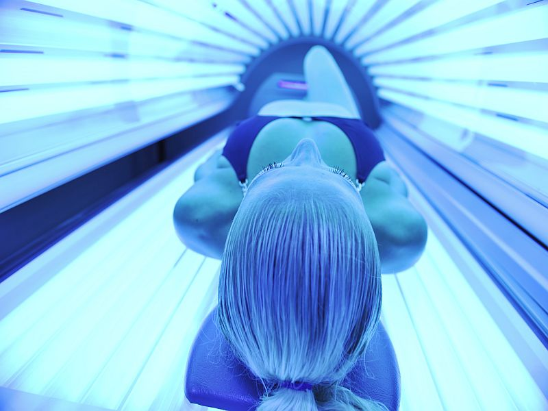 News Picture: FDA Proposes Tanning Bed Ban for Minors