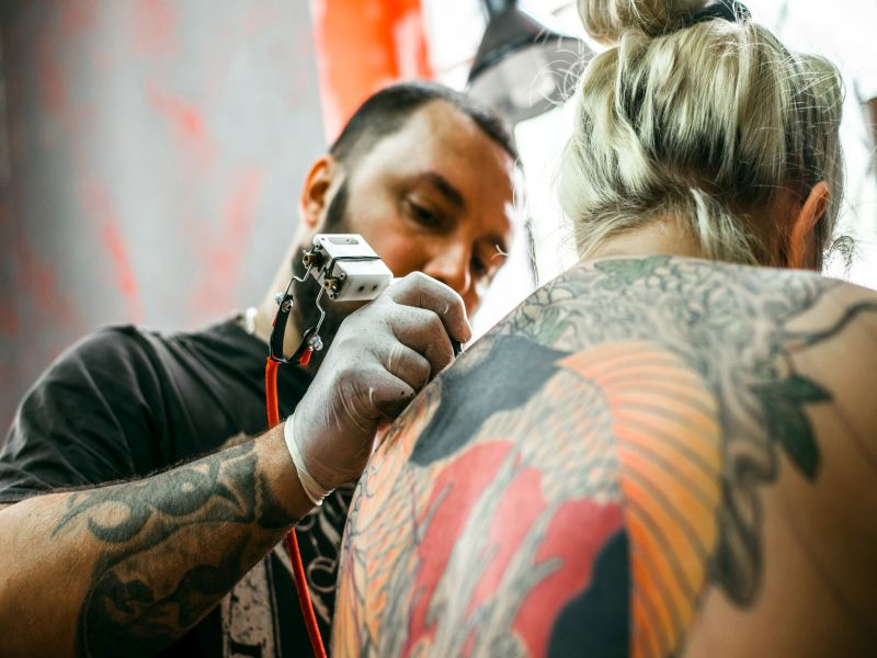 News Picture: FDA Warns of Tattoo Dangers