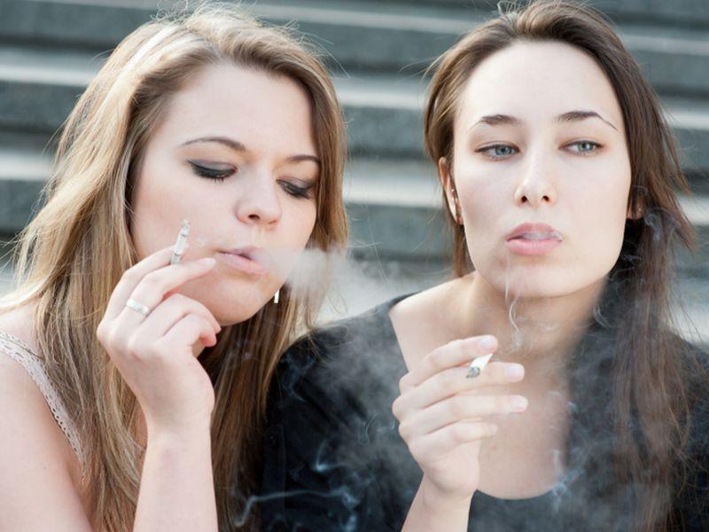 percentage of teenage smokers 2018