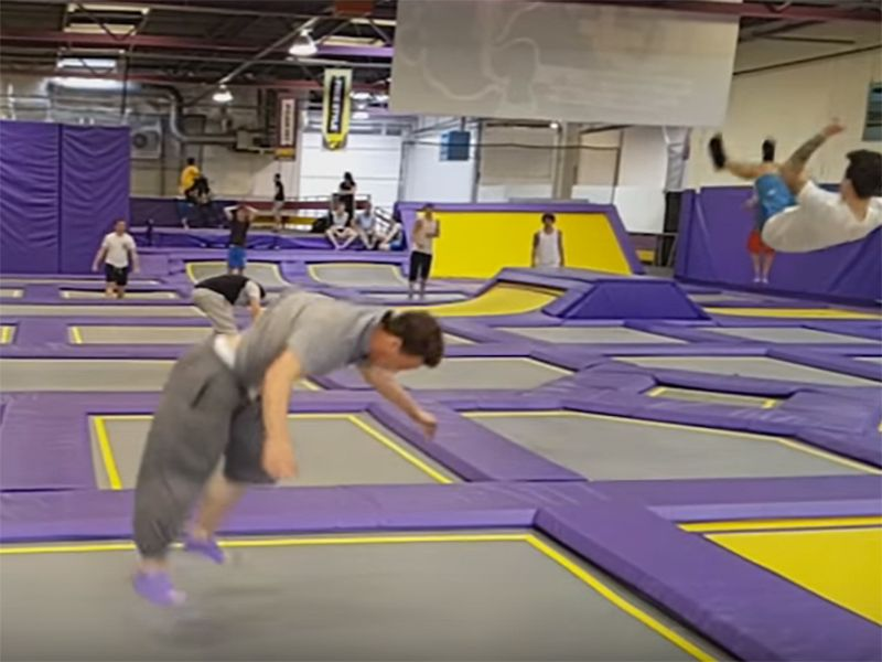 Bouncing From 'Jump Park' Trampolines Into the ER