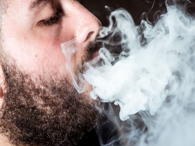 Vaping Could Put You at Risk for Gum Disease