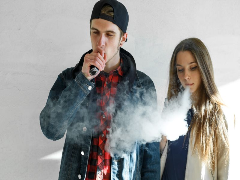 Youth Vaping Down, But Still Popular: CDC