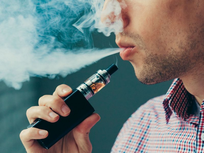 Mouse Study Suggests Vaping Might Raise Cancer Risk