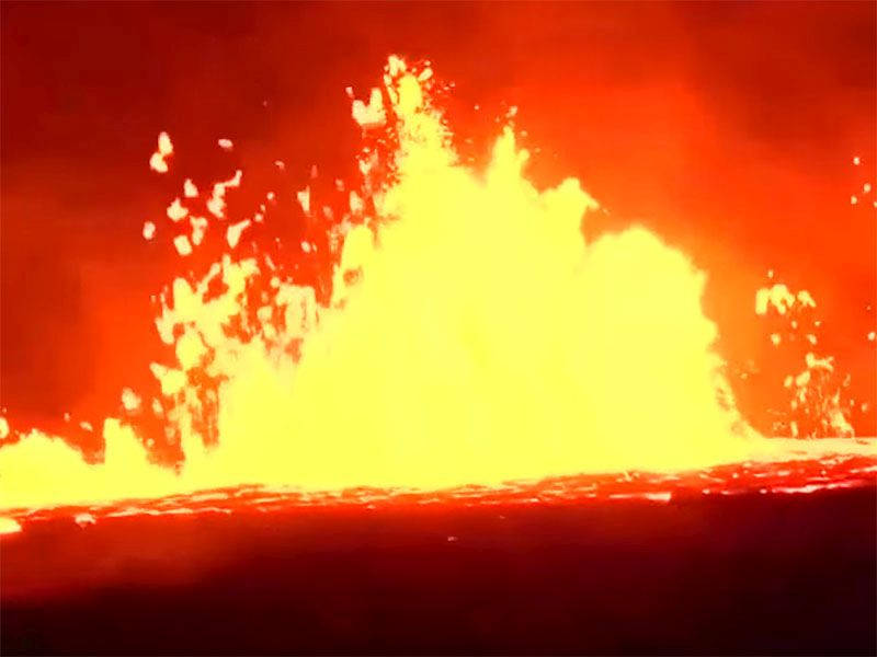 Health Concerns Rise Along With Hawaii Eruptions