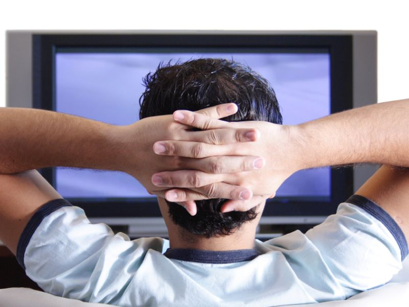 TV Watching May Be Most Unhealthy Type of Sitting: Study