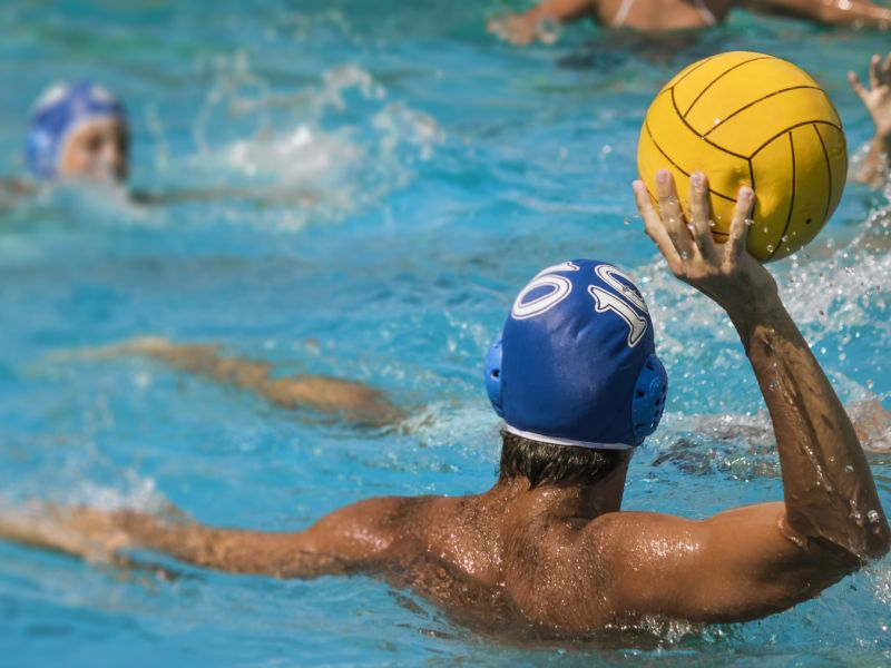 News Picture: Concussions Strike 1 in 3 Water Polo Players