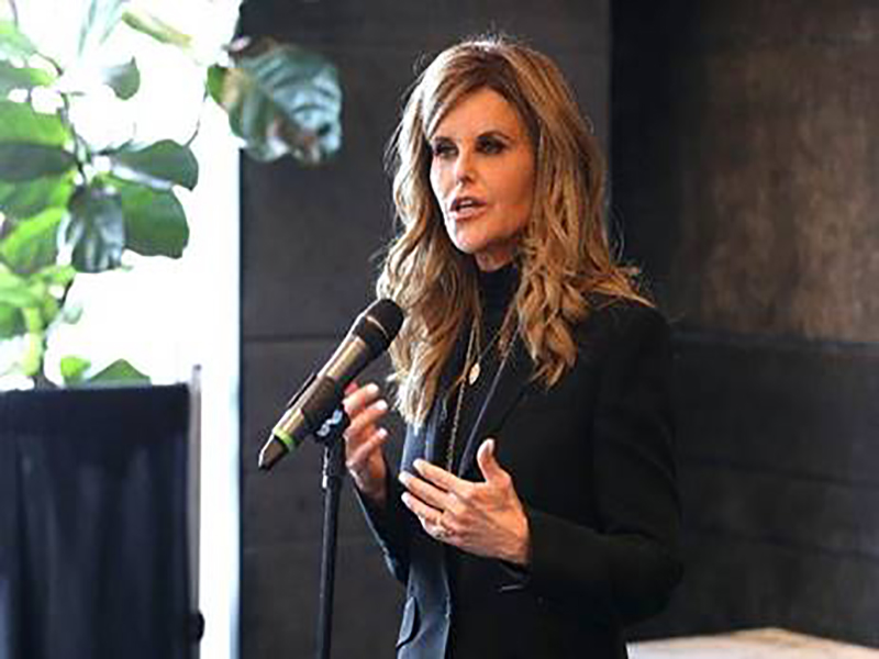 News Picture: Maria Shriver Sounds the Alarm on Women and Alzheimer's