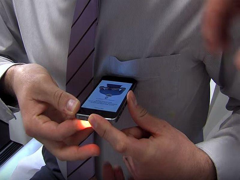 Una aplicación de smartphone para la presión arterial se..