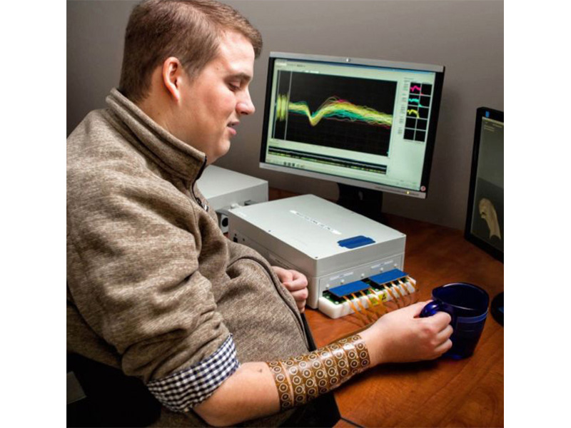 News Picture: Back in Touch: Technology Restores Hand Sensitivity to Young Quadraplegic