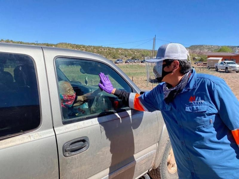 COVID-19 Ravages the Navajo Nation, But Its People Fight Back