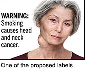 FDA Proposes Graphic Warning Labels on Cigarettes