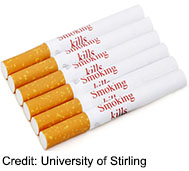 Would a Health Warning on Every Cigarette Help Smokers Quit?