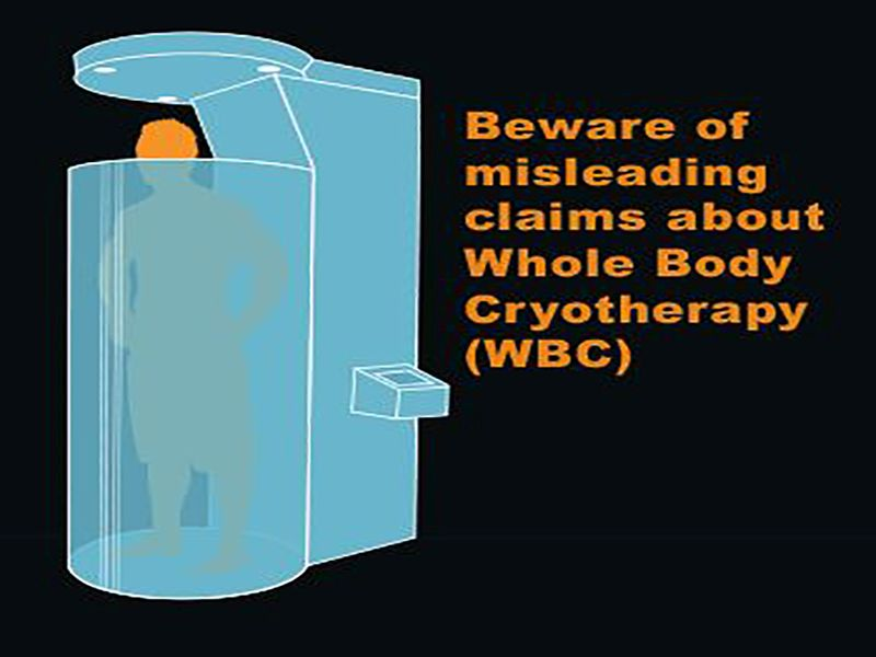 News Picture: FDA Throws Cold Water on Whole Body Cryotherapy