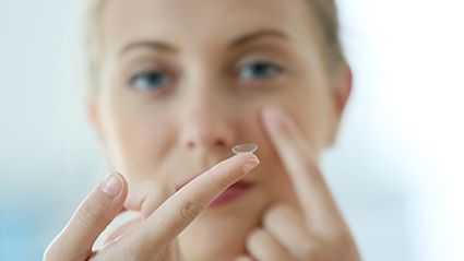 Contact Lenses and Eye Health