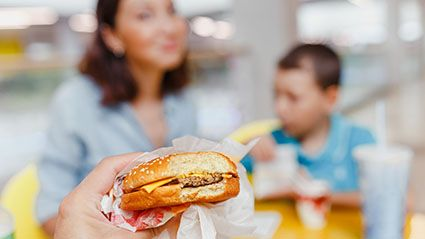 Are Kids Eating More Fast Food For Lunch or Dinner?