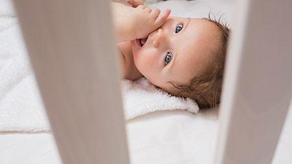 Retos en cuanto a la posición en la que duermen los bebés